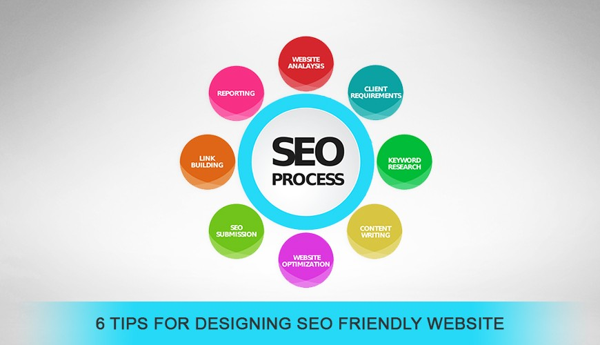6 TIPS FOR DESIGNING SEO FRIENDLY WEBSITE