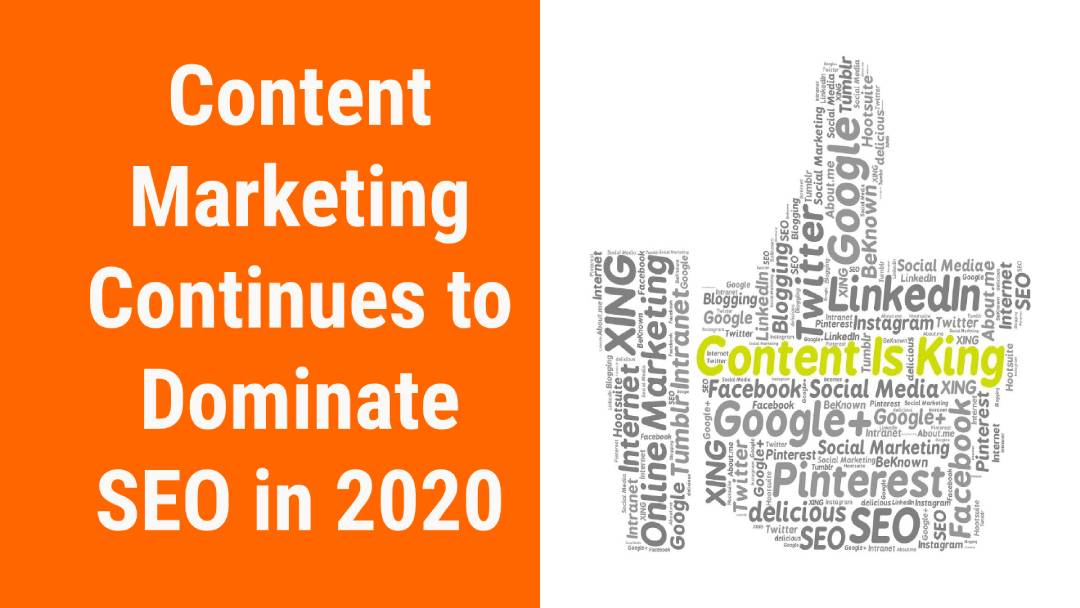 Content Marketing Continues to Dominate SEO in 2020