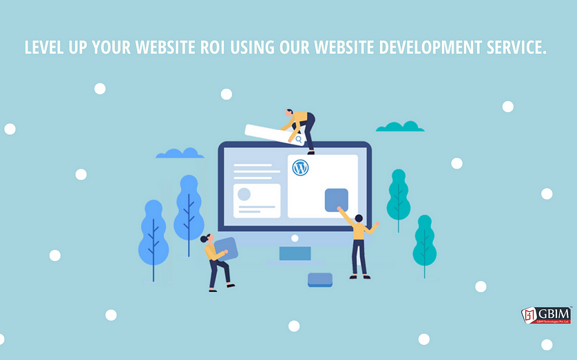 Level up your website ROI using our website development service