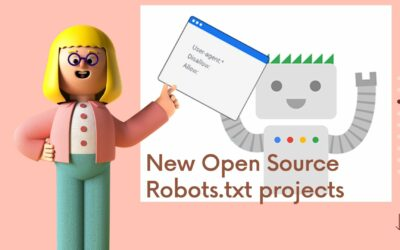 New Open Source Robots.txt projects