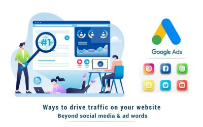 Ways to Drive Traffic on your website – Beyond Social Media & Ad words