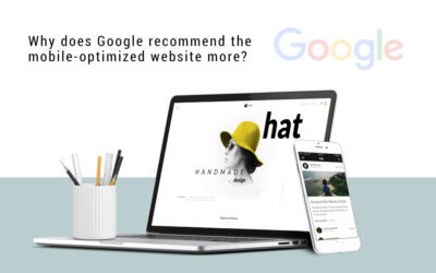 Why does Google recommend the mobile-optimized website more?